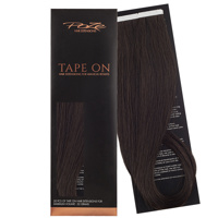 Poze Standard Tape On Extensions - 52g Dark Espresso Brown 2B - 40cm