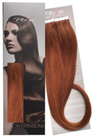 Poze Standard Tape On Extensions - 52g Copper Fusion 7K - 50cm