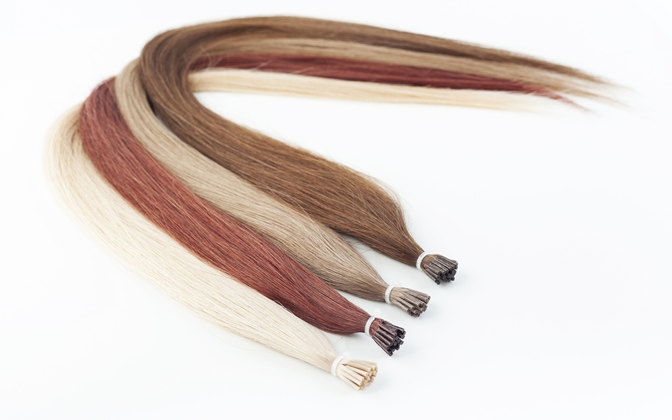 Poze Premium Magic Tip Extensions Cool Blonde 10V - 50cm
