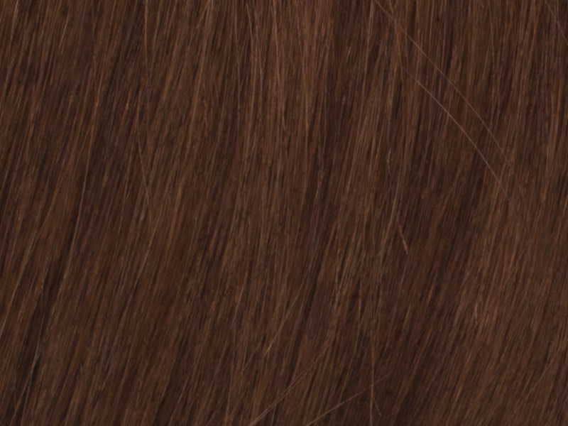 Poze Premium Keratin Extensions Light Copper Brown 7BK - 60cm