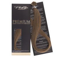 Poze Premium Keratin Extensions Light Ash Brown 8A - 50cm