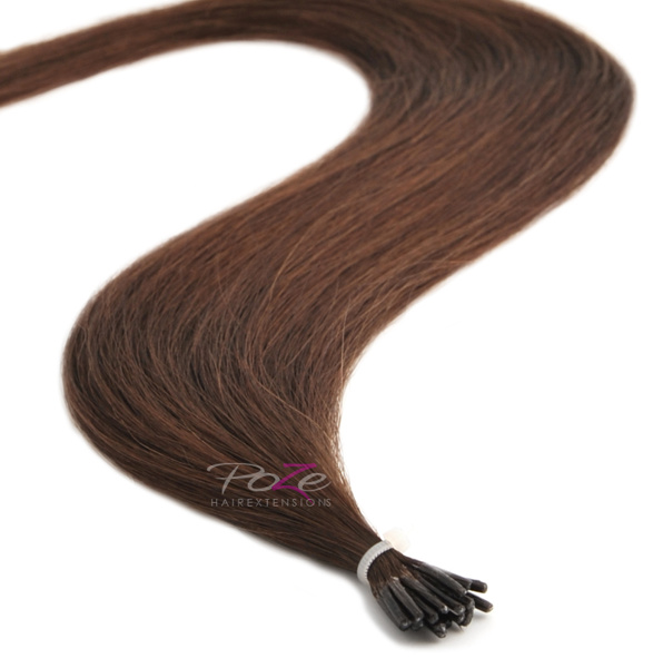 Poze Standard Magic Tip Extensions Chocolate Brown 4B - 50cm