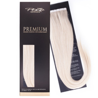 Poze Premium Tape On Extensions - 52g Platinum+ 1001 - 50cm