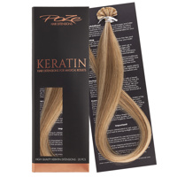 Poze Standard Keratin Extensions Whipped Cream Blonde 8B/11G - 50cm