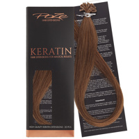 Poze Standard Keratin Extensions Golden Honey 8BG - 50cm