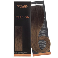 Poze Standard Tape On Extensions - 52g Riche Brown Balayage T5 - 50cm