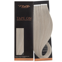 Poze Standard Tape On Extensions - 52g Dirty Titanium Mix 10BS/12AS - 50cm