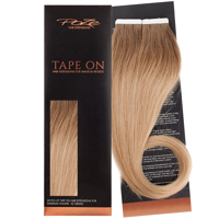 Poze Standard Tape On Extensions - 52g Sandy Brown Balayage 7BN/10B - 50cm