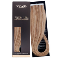 Poze Premium Tape On Extensions - 52g Brown Ashblonde Mix 10B/8B - 50cm