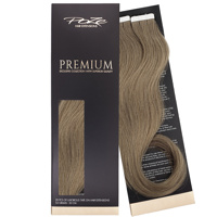 Poze Premium Tape On Extensions - 52g Light Ash Brown 8A - 50cm