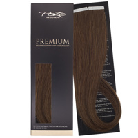 Poze Premium Tape On Extensions - 52g Lovely Brown 6B - 50cm