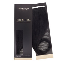 Poze Premium Tape On Extensions - 52g Midnight Black 1N - 50cm