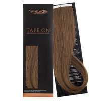 Poze Standard Tape On Extensions - 52g Mocha Brown 7BN - 50cm