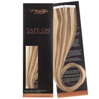 Poze Standard Tape On Extensions - 52g Whipped Cream Blonde 8B/11G - 50cm
