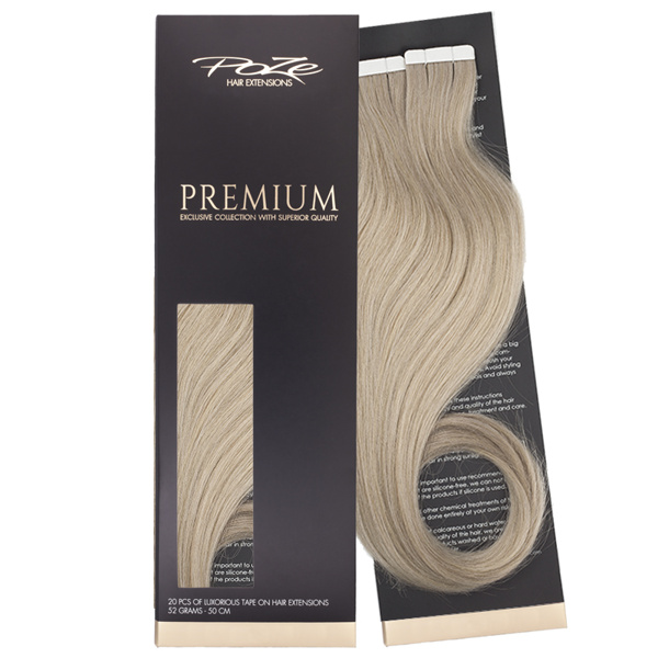 Poze Premium Tape On Extensions - 52g Cool Blonde 10V - 50cm