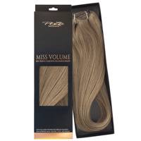 Poze Standard Löshår Clip & Go Miss Volume - 220g Light Ash Brown 8A - 55cm